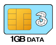 1GB 12 month SIM Only – £5.00 p/m