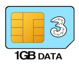1GB 12 month SIM Only
