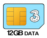 12GB 12 month SIM Only