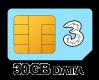 30GB 12 month SIM Only