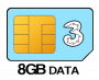 8GB SIM Only - 12 month contract
