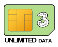 Unlimited 12 month SIM Only – £18.00 p/m