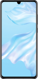 Huawei P30 128GB – 8GB Data, £22.00 p/m, £29.00 Upfront