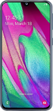 Samsung Galaxy A40 64GB – Unlimited Data, £20.00 p/m, £19.00 Upfront